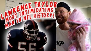 Rugby Player Reacts to LAWRENCE TAYLOR - The Most Intimidating Man in NFL History!
