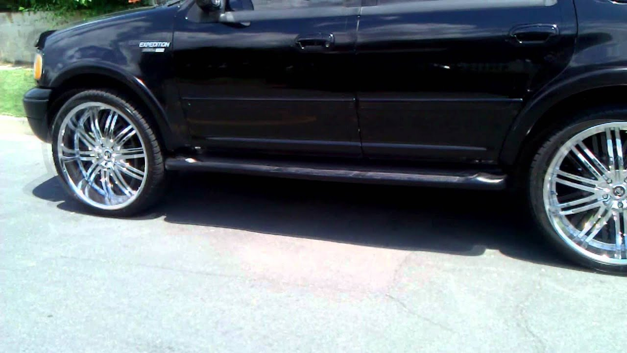 Ford Expedition On 26 Inch Rims Promo Truck Youtube