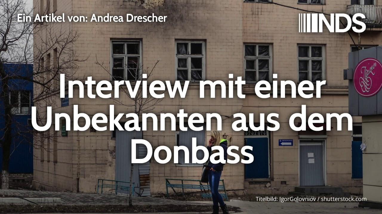 Bildergebnis für Interview mit einer Unbekannten aus dem Donbass