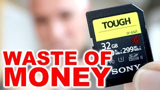 Don't buy the wrong SD card (Memory Card Tutorial)