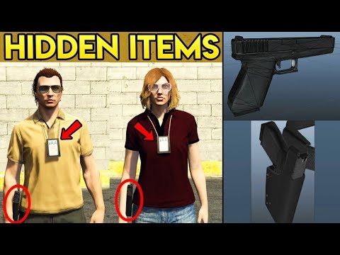 "GTA Online HIDDEN ""IAA"" Outfits & Weapons Found in Game Files - Future DLC Possible?"