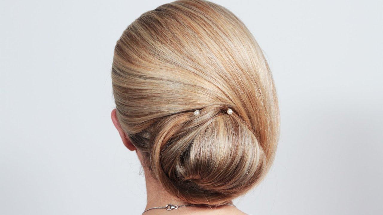 Easy DIY Wedding Updo | Hair With Hollie S10E2/8 - YouTube