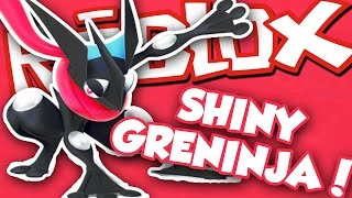 GETTING SHINY GRENINJA!!! / Roblox Pokemon Brick Bronze