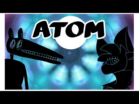 Atom _4 week psychedelic sillohette map_ backups open