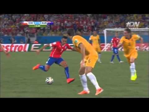 Chile vs Australia 3-1 Grupo B Mundial 2014 TDN