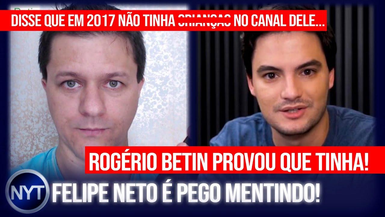 Felipe Neto é pego MENTINDO em vídeo DESMASCARANDO o YouTuber