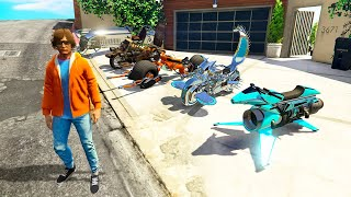 Collecting RARE BILLIONAIRE BIKES In GTA 5 RP!