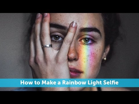 This Is the Easy Way to Make Rainbow Light Filters for Your