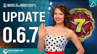 World of Warships - Game Update 0.6.7