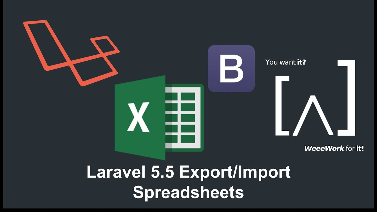 Laravel 5 5 Export Import Excel - 2 Export From Database to Excel using  Laravel 5 5