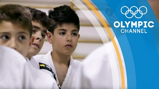 Syrian Boy Finds Healing from the Trauma of War through Judo | Camps to Champs