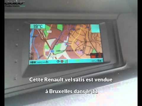Renault vel satis occasion visible à Bruxelles présentée par Automobile 5