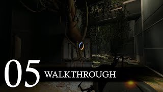 Portal 2 Campaign Walkthrough Part 5 (No Commentary/Full Game)