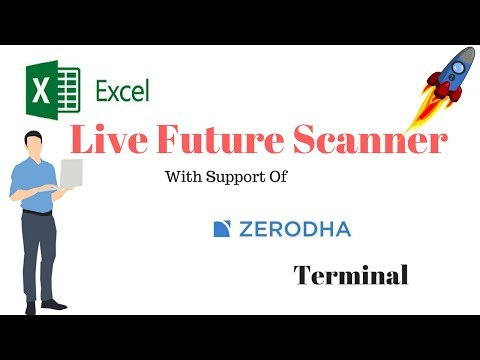 Zerodha Terminal :-Nse Future Buy Sell Excel Live Signal