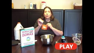 Kitchen Chemistry: Shaving Cream Slime - 7/1/2020