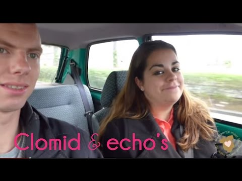 Echo na clomid