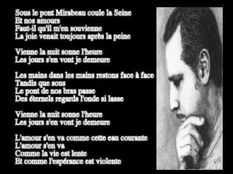 Le Pont Mirabeau - Marc Lavoine