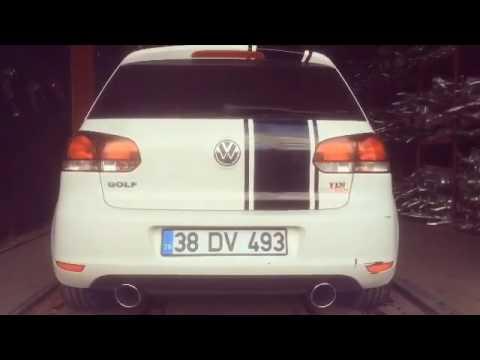 Volkswagen Golf 6 1.6 Dizel Egzoz Sesi