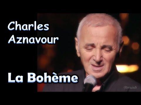 Charles Aznavour - La Bohème - legenda dupla -  - romantica - 072