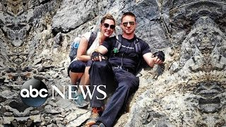 Couple rescued from ice cave after two days