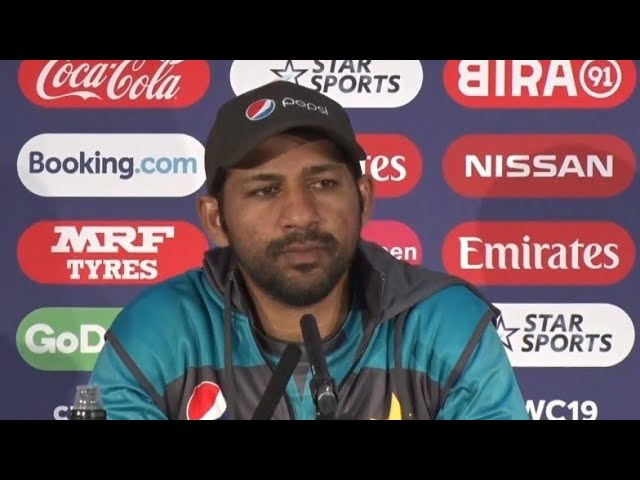 Pakistan Captain Sarfaraz Ahmed Reacts to 'fat as pig' Comment by Pakistani Fan in England