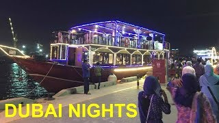 Dhow Cruise Ride In Dubai | Dinner | Dance | Best Experience Ever ??