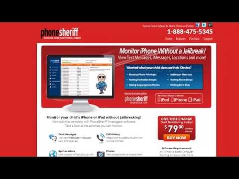 PhoneSheriff Investigator Review + Coupon 15% Off Monitor Without Jailbreak from YouTube · Duration:  3 minutes 49 seconds