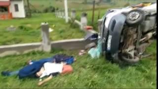 З'явилося відео страшної ДТП, у якій постраждало 13 людей