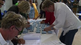 Vote counting begins in New Caledonia's independence referendum