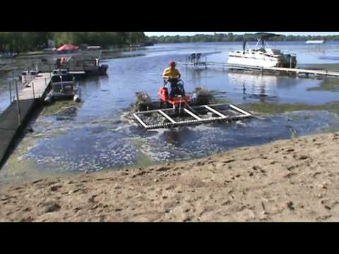 Introducing the Lake Weed Power Rake