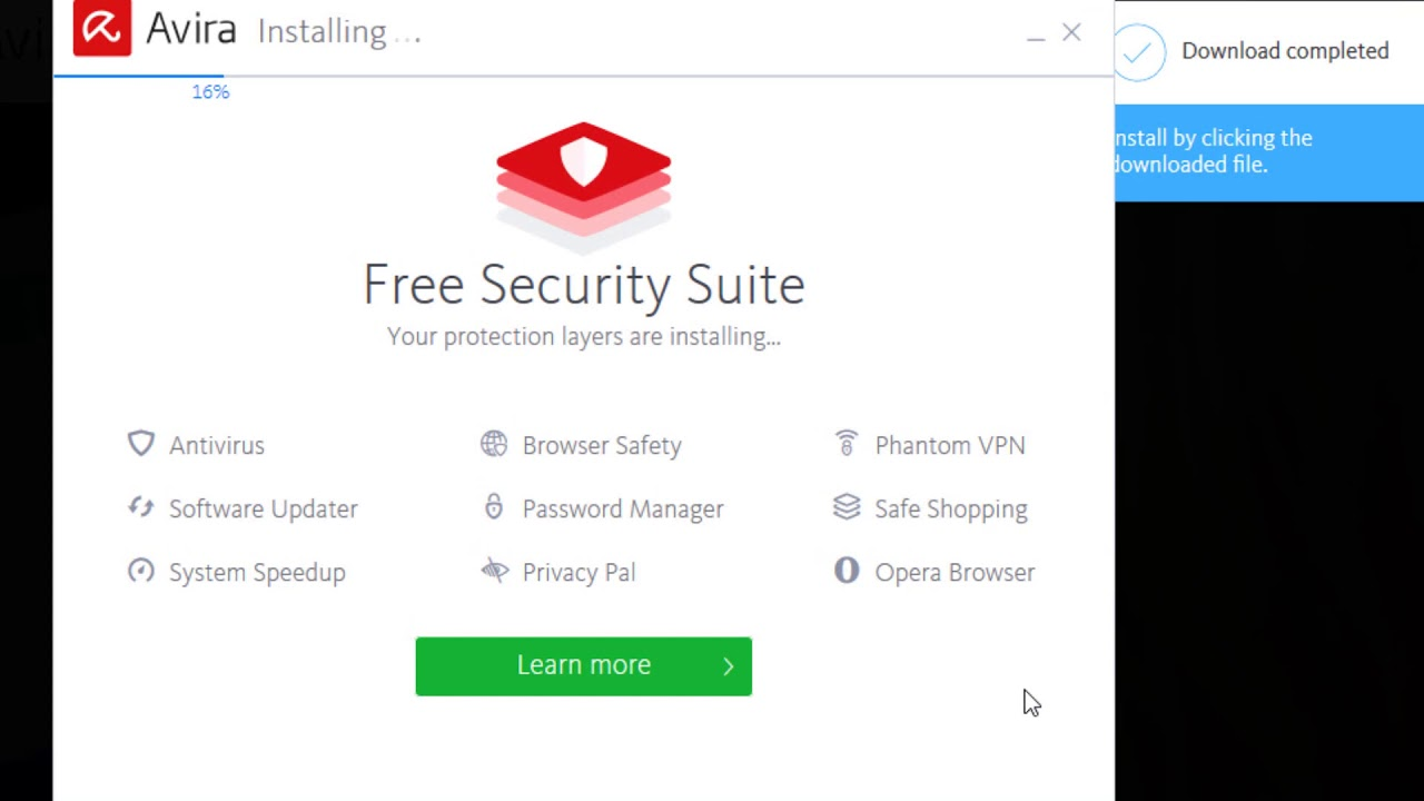 How to Install Avira Free Antivirus for Windows 10