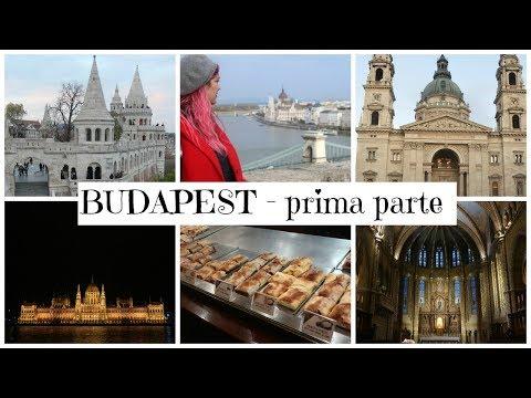 Vlog: Budapest - Terme, Castle Hill, cibo e delirio al buio (prima parte)