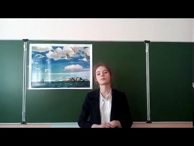Изображение предпросмотра прочтения – АнастасияПеревозчикова читает произведение «Ты помнишь...» А.А.Блока