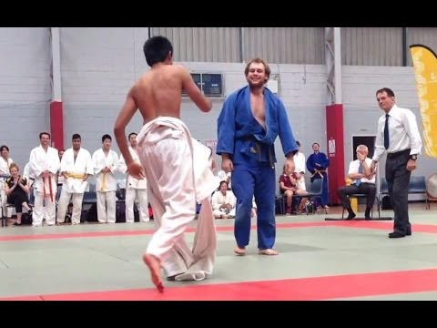 Judo gi got ripped apart during match