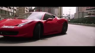 ABU DHABI:  FERRARI vs Police cars