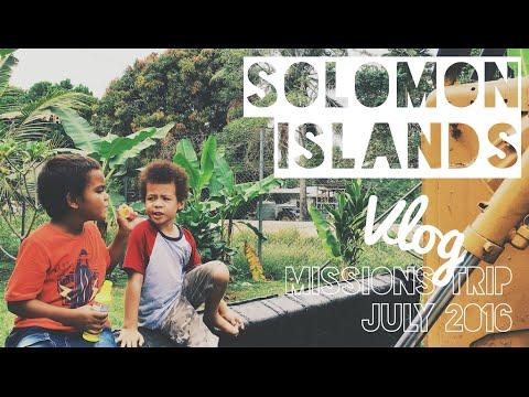 SOLOMON ISLANDS MISSIONS TRIP JULY 2016 | VLOG