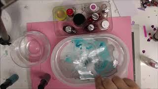Glas mit Nagellack marmorieren / Windlicht mit Marmoreffekt / Kein Tutorial: Fails / Fehlversuche