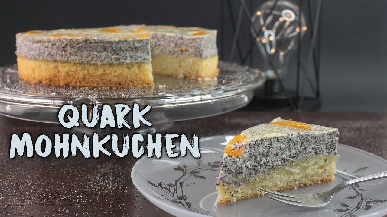 Quark Mohnkuchen Backen Mohn Kasekuchen Mit Mandarinen Selber