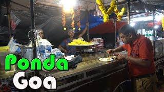 Ponda, Goa SpiceFarm visit   Fish Thali & Ras omelette at Panjim