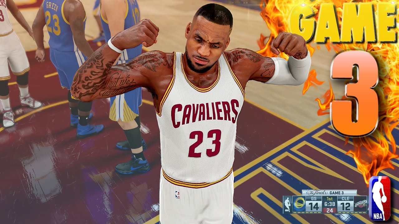 Cavaliers vs warriors game 7 predictions - Cleveland Cavaliers Vs Golden State Warriors Game 3 Nba Finals Nba 2k16 Prediction
