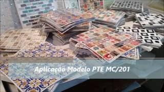 Pastilhas Autoadesivas Resinadas M.Milan - Aplicação