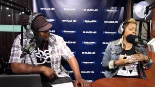 Monifah Opens up on Bisexuality on Sway in the Morning on R&B Divas