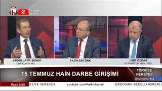 Türkiye Nereye / Abdüllatif Şener - Ümit Özdağ - 1. Bölüm - 14 Temmuz
