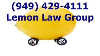 Expert Irvine Lemon Law in Attorney, Auto Dealer Lemon Law Lawyer