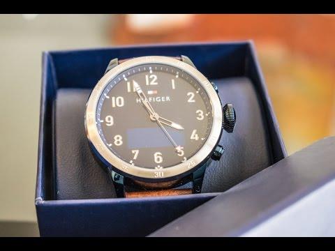 6a18c8933556f9 Tommy Hilfiger 24/7 Smart Watch - YouTube