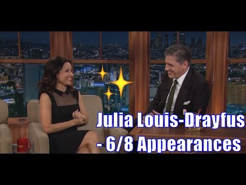 Julia Louis-Dreyfus - Talks Marijuana, Underwear & Accents - 6/8 Appearances In Order [240p-1080p]