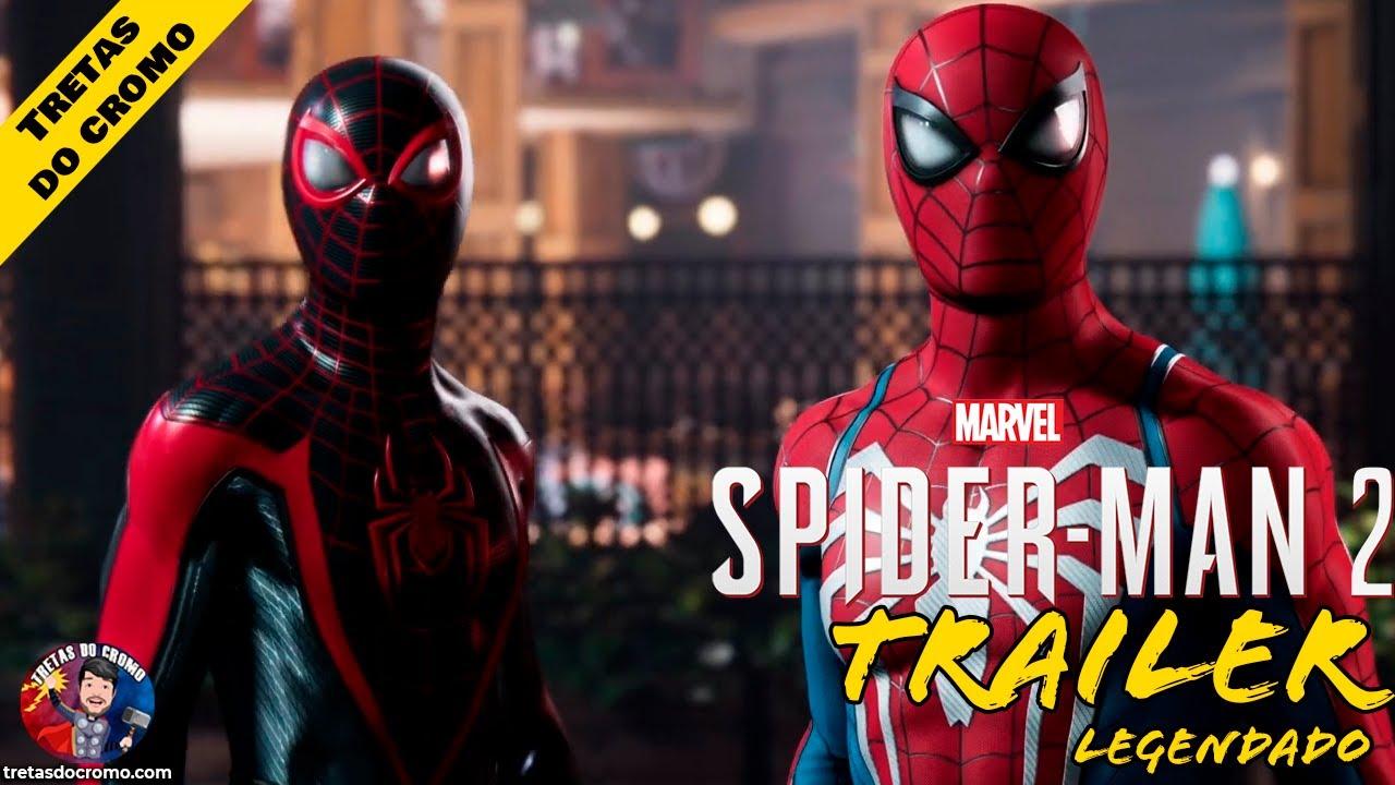 Marvel's Spider-Man 2 revelado e ganha trailer