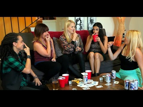 Extras! How Girls Cheat At Drinking Games ft. Awkward Kids ...