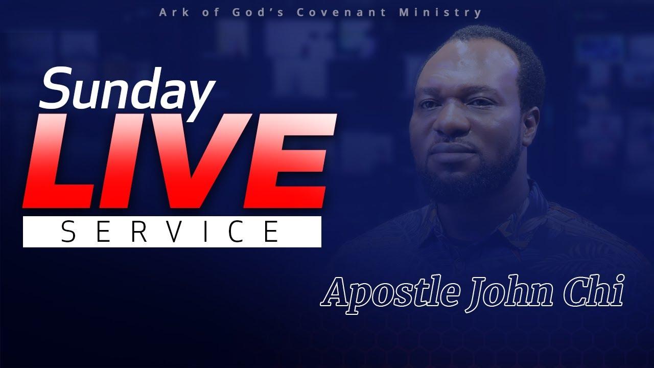 THE AGCOM SUNDAY LIVE SERVICE WITH APOSTLE JOHN CHI 25-07-2021