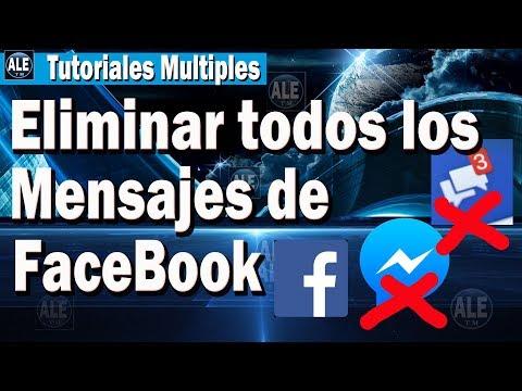 Como Eliminar Todos Los Mensajes De Facebook Messenger - Borrar Conversaciones De Facebook